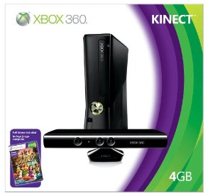 Capture291 XBOX 360 4 GB Console with Kinect Available With $80 Amazon Credit – Hurry!