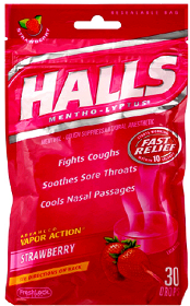 Halls Cough Drops Coupons