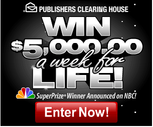 growing up with publishers clearing house pch blog