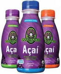 Sambazon Organic Juice Coupons