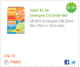 Emergen-C Coupons
