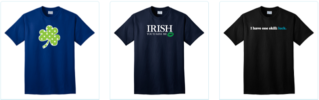 St. Patrick's Day T-Shirt Deals