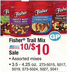 Fisher Nut Deals