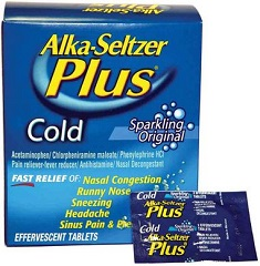 Alka Seltzer Cold Plus Coupons
