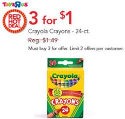 Crayola Crayons Deals