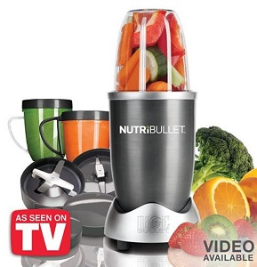 NutriBullet 12-Piece Superfood Nutrition Extractor & Blender Set Only ...