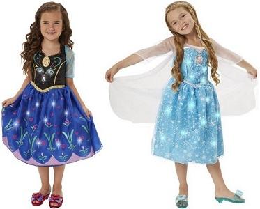 2e6419e71aa4 Disney Frozen Anna Or Elsa Musical Light Up Dress Only $23.99 ...