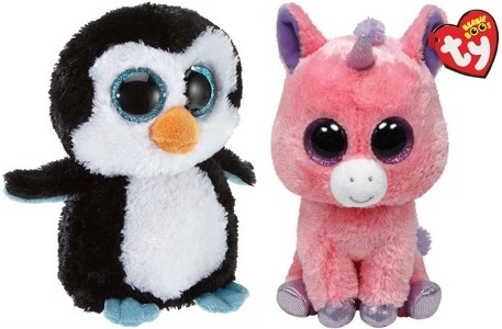29d8451bbae Ty Beanie Boos Plush Unicorn Or Waddles Penguin Only  5.74 Shipped! Beanie  Boos Deals
