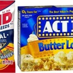 David Sunflower Seeds And Act II Popcorn