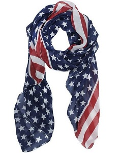 American Flag Scarf Deals
