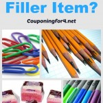 What Is A Filler Item