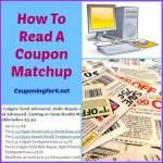 How To Read A Coupon Matchup
