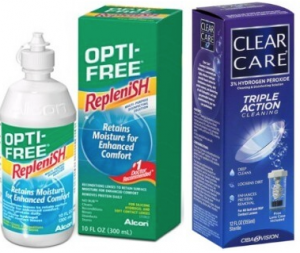 Opti-Free or Clear Care