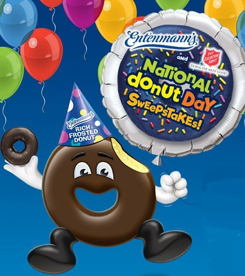 Entenmann's Donut Day Sweepstakes