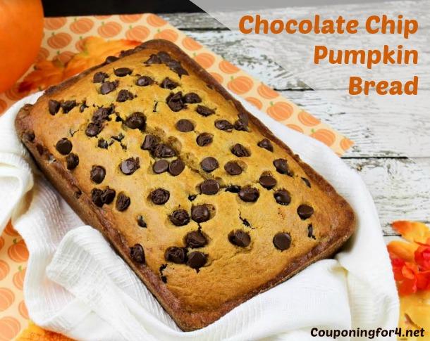 Chocolate Chip Pumpkin Bread Recipe — Dishmaps