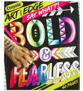 New Crayola Art With Edge Coloring Book Coupon Plus Target Deal Idea ...